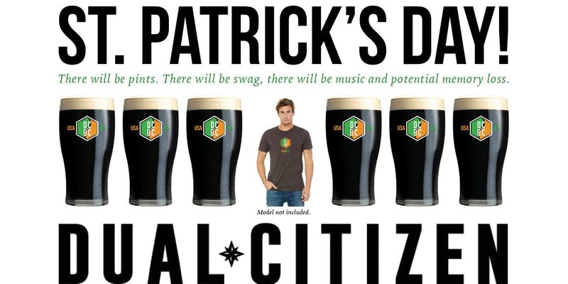 Dual Citizen Brewery Beer St. Patricks Day